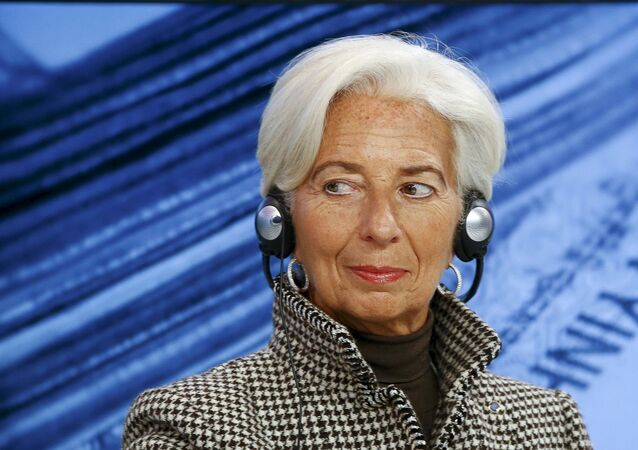 International Monetary Fund (IMF) Managing Director Christine Lagarde attends the session Where Is the Chinese Economy Heading? of the annual meeting of the World Economic Forum (WEF) in Davos, Switzerland in this January 21, 2016 file photo