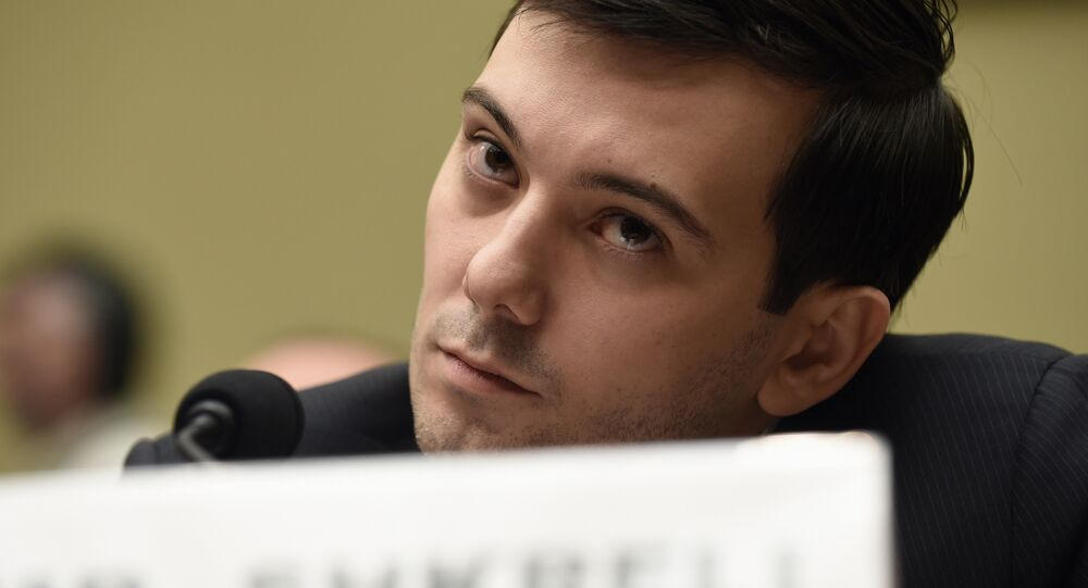 'Pharma Bro' Smirks Through Hearing With 'Imbecile' US Lawmakers