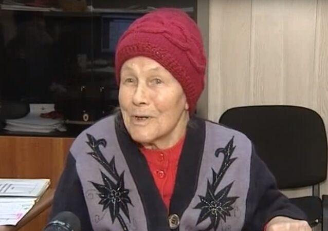 Valentina Kiyashova, the heroic elderly lady who helped apprehend a mugger.