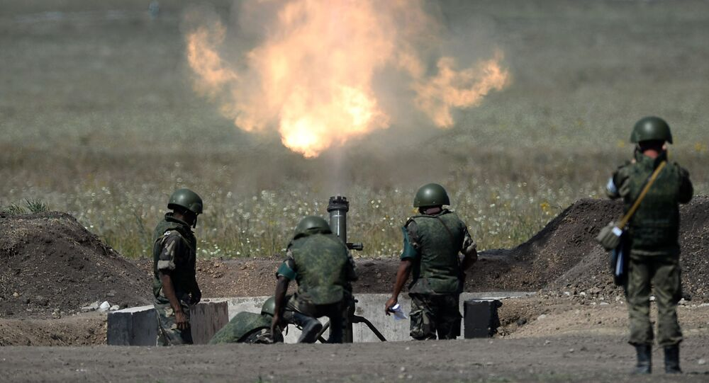 Masters of Artillery Fire competition in Saratov Region