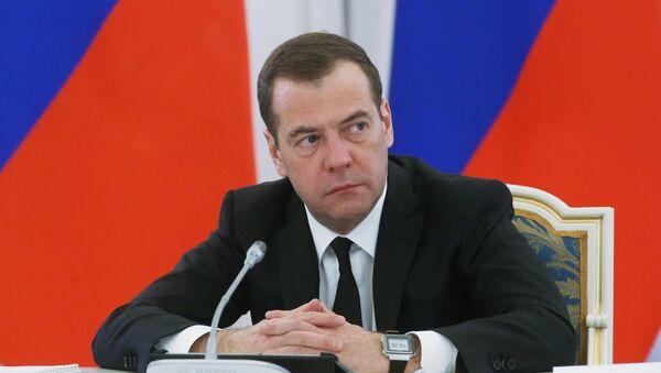 Prime Minister Medvedev - Sputnik International