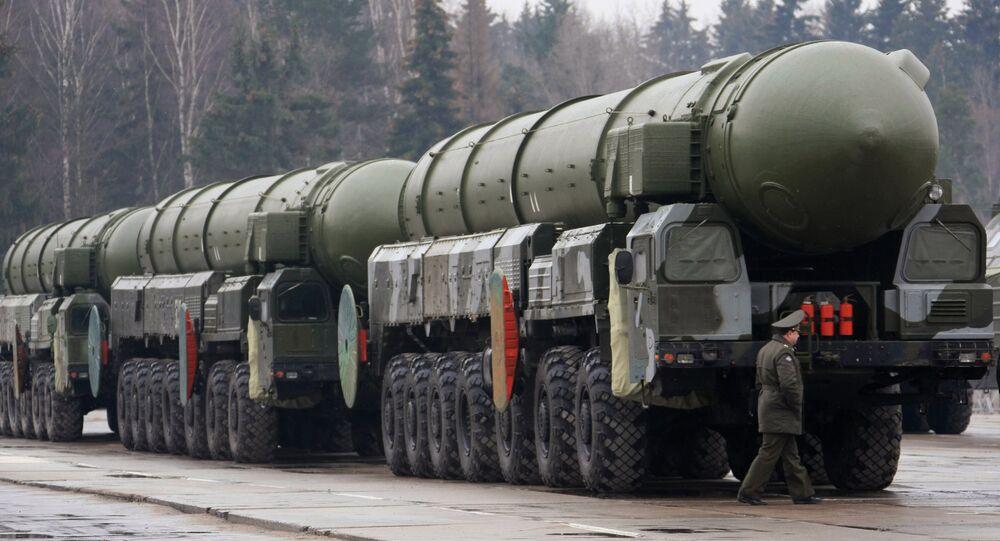 Topol strategic missile complex. File photo
