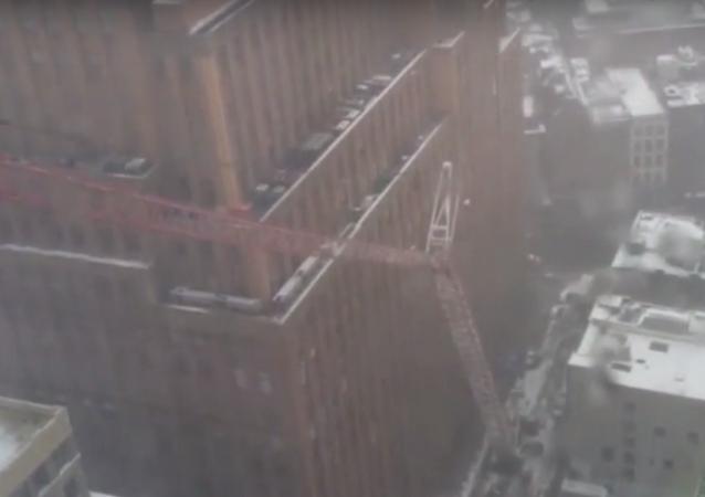 Deadly New York City Crane Collapse