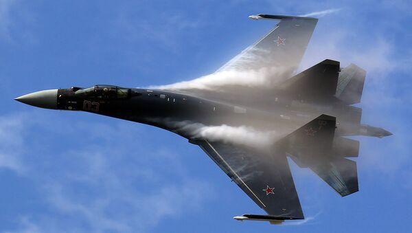 The Su-35 jet fighter - Sputnik International