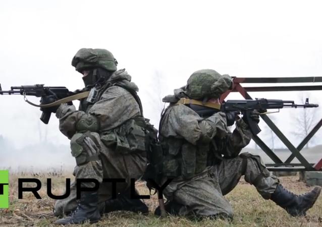 Russia: Drills held utilising new 'Ratnik' infantry combat system in Pskov