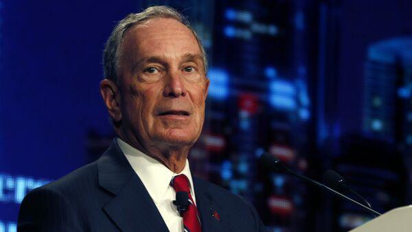 Former New York City mayor Michael Bloomberg - Sputnik International