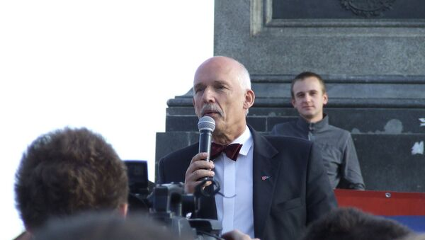 Janusz Korwin-Mikke - Sputnik International