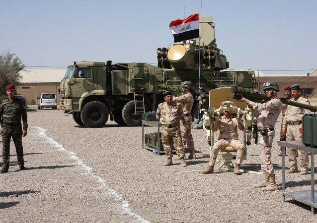 Iraq's armed forces.