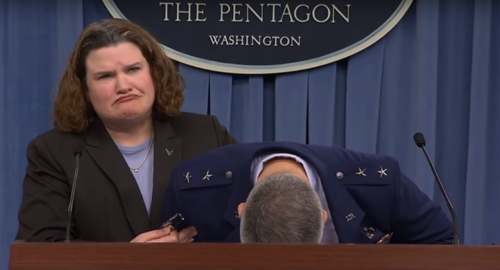 WATCH: US Air Force General Faints During Briefing
