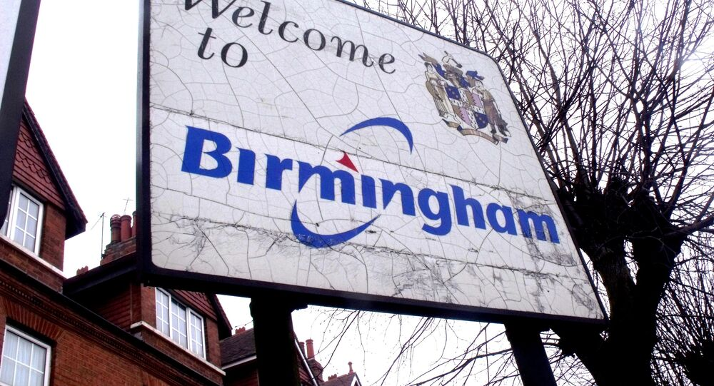 Welcome to Birmingham sign