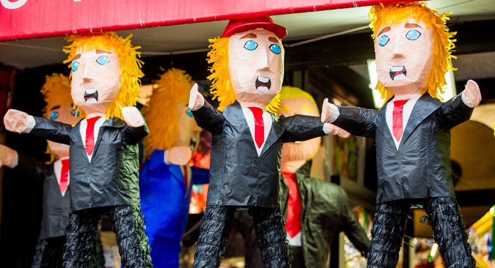 Donald Trump dolls