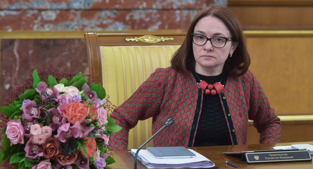 Chair of the Central Bank of Russia Elvira Nabiullina