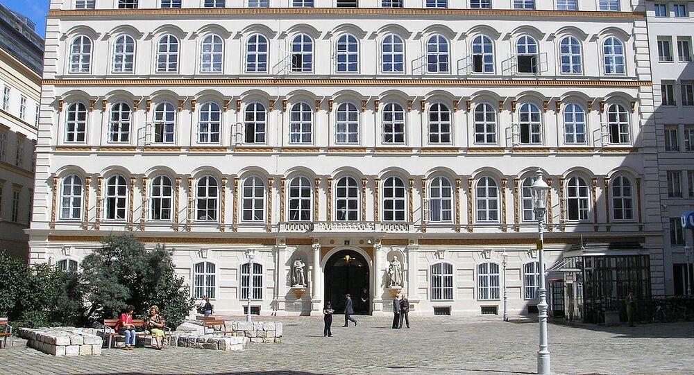 Foreign Ministry building on Minoritenplatz, Vienna