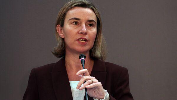 European Union's Foreign Policy Chief Federica Mogherini - Sputnik International