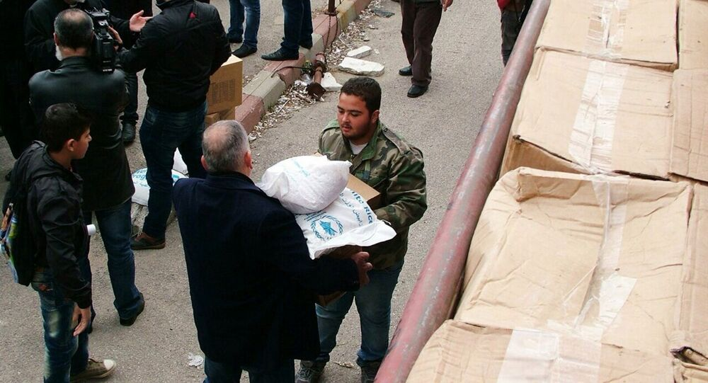 Russia delivered humanitarian aid to Syrian Kessab, Latakia Province