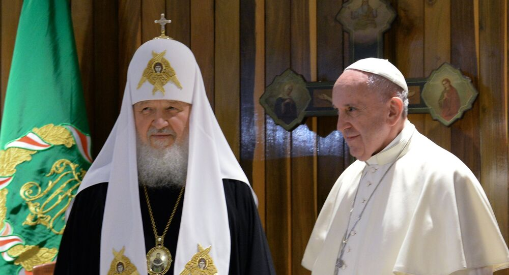 Patriarch Kirill and Pope Francis Meet in Havana