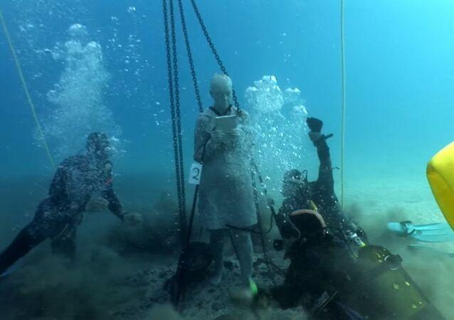 Underwater Museum in Atlantic