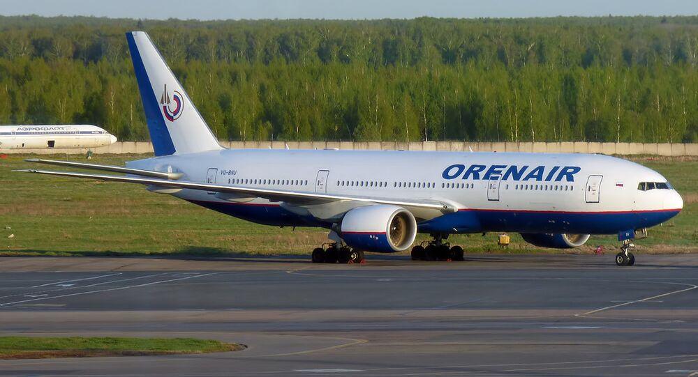 Orenair Boeing 777-2Q8