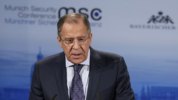 Russian Foreign Minister Sergey Lavrov delivers his speech at the  Munich Security Conference in Munich, Germany (File) - Sputnik International