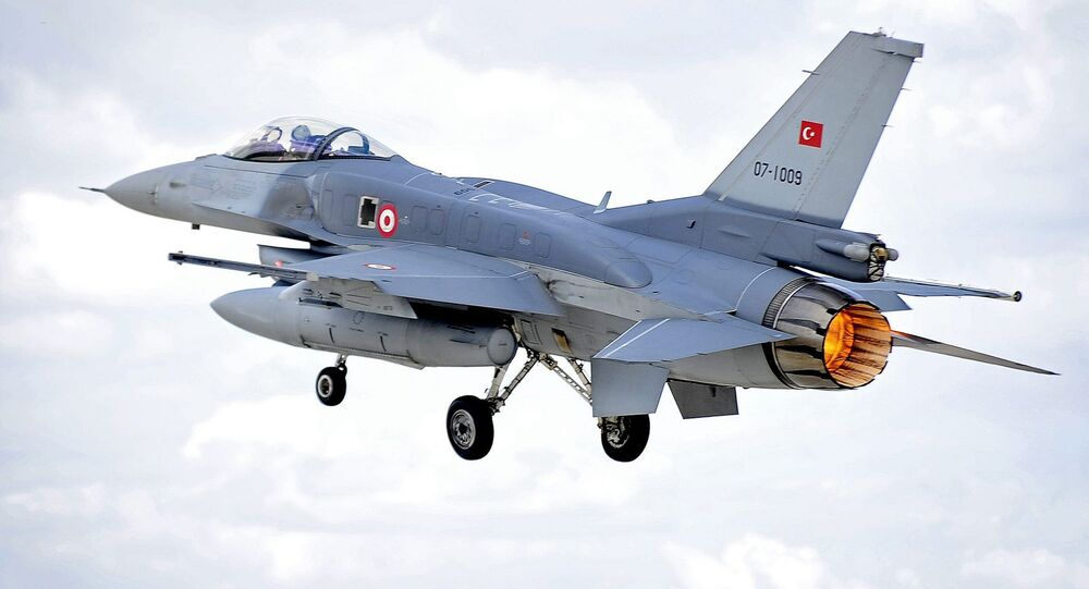 Turkish Air Force F-16 Fighting Falcon