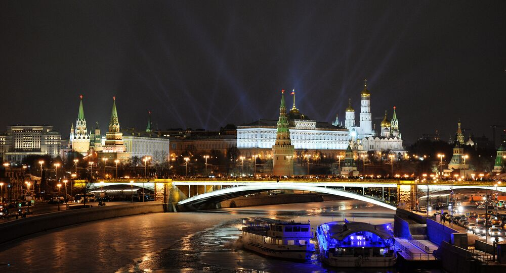 New Year celebrations in Moscow