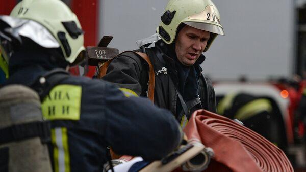 Rescue team workers - Sputnik International