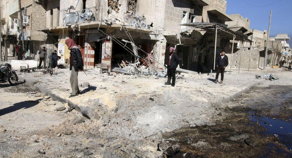 View of Aleppo, Syria. (File)