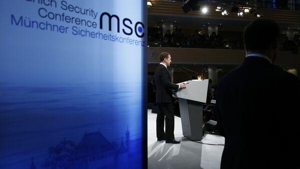 Prime Minister Dmitry Medvedev attends Munich Security Conference - Sputnik International