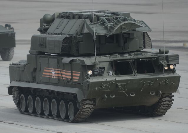 TOR M2U all-weather tactical air defense missile system