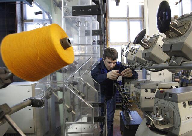 Uzor factory in village of Vyritsa, Leningrad Region