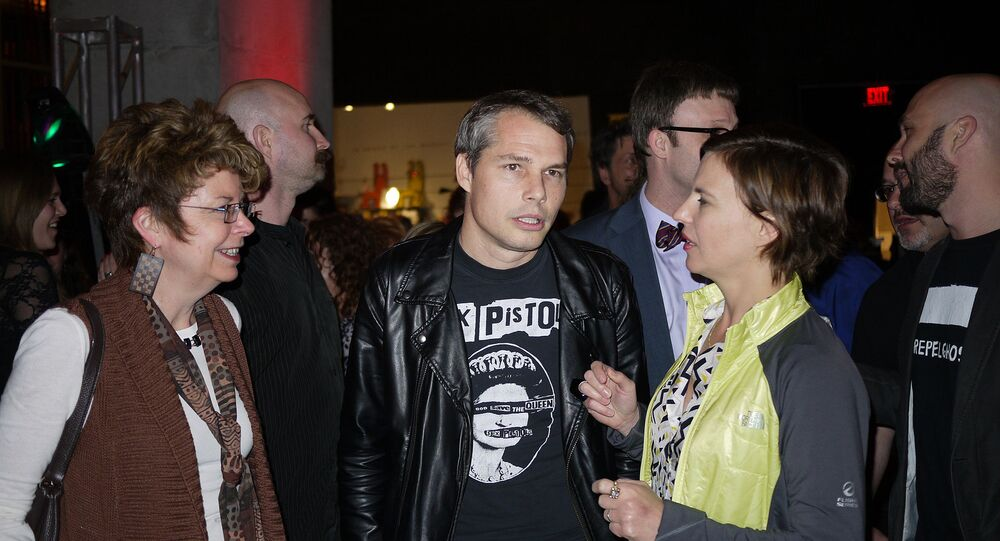 Shepard Fairey at the CAC