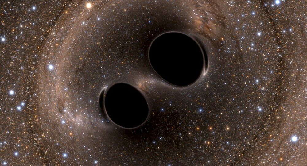 The most powerful black hole collision ever!