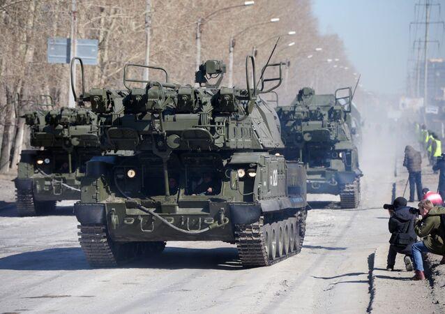 Tor-M2U missile system. File photo