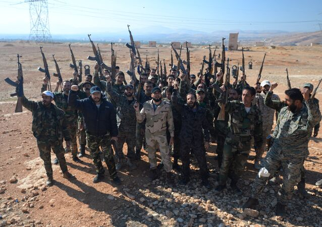 Self-defense fighters in Syria. File photo