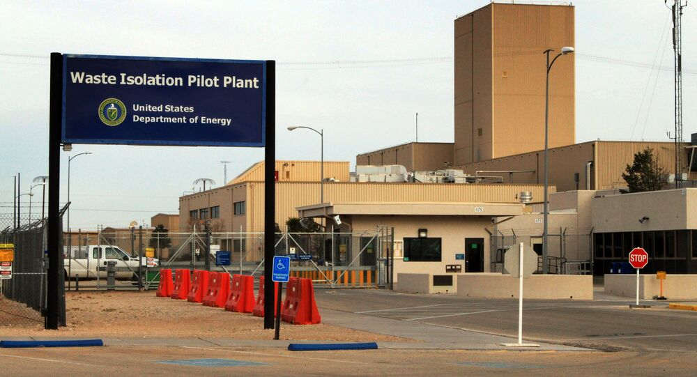 This March 6, 2014 file photo shows the idled Waste Isolation Pilot Plant, the nation's only underground nuclear waste repository, near Carlsbad, N.M.
