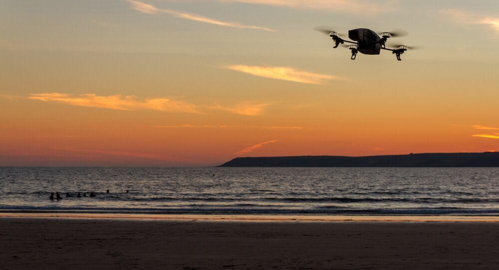 drone at sea