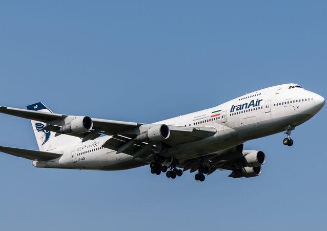 Iran Air Boeing 747-286B(M)