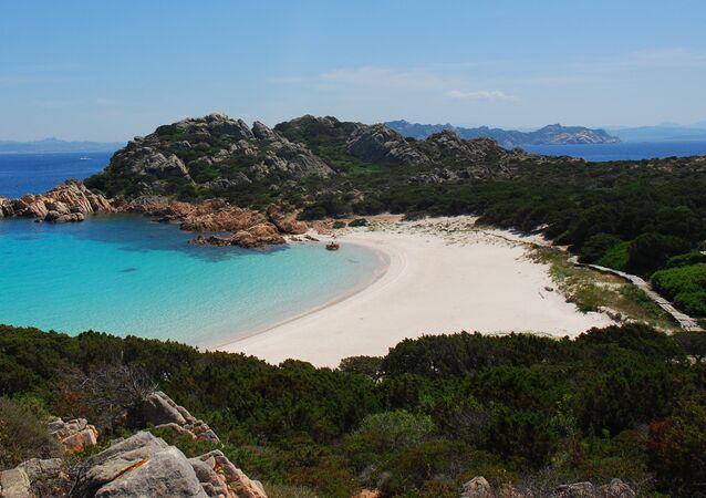 Spiaggia Rosa, isola di Budelli, Sardegna