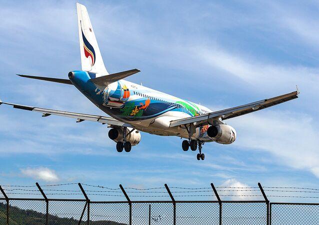 Bangkok Airways plane