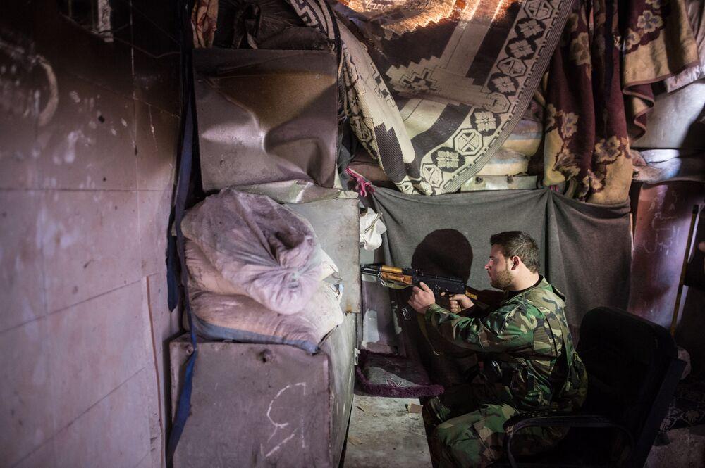 Battle for Aleppo: Life Under Flying Bullets