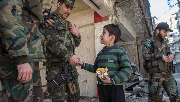 Aleppo update - Sputnik International