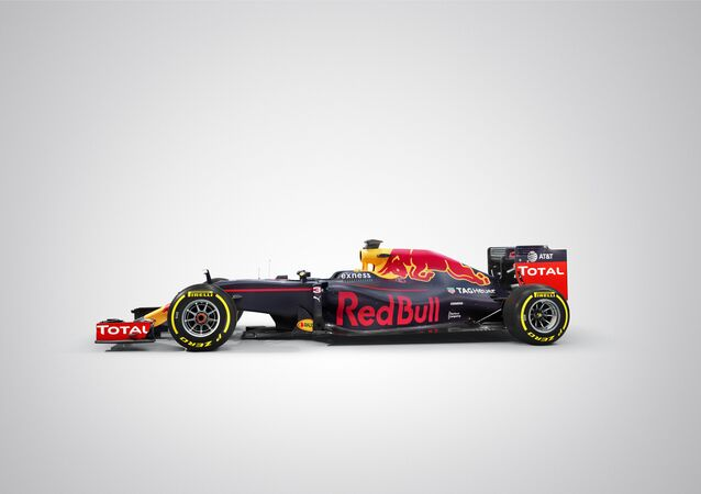 Red Bull Racing RB 12 seen during a studio shoot in UK on February 20th, 2016