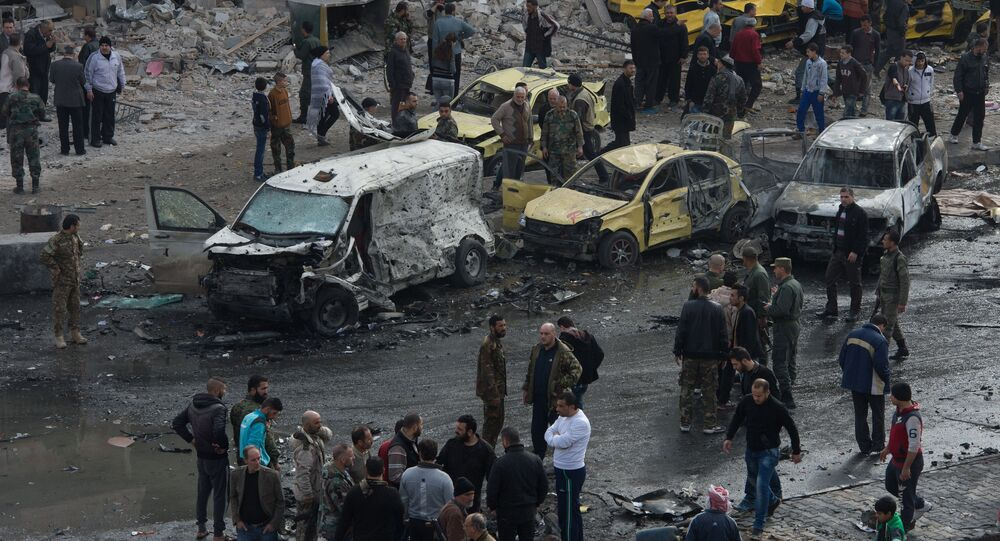 Terror act in Homs (file)