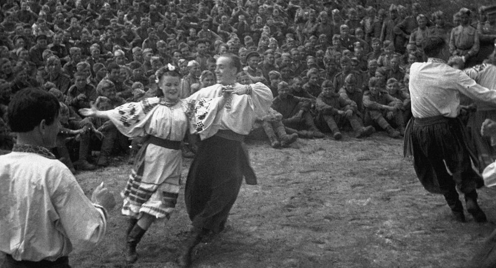 The First Far Eastern Front's Dance Company