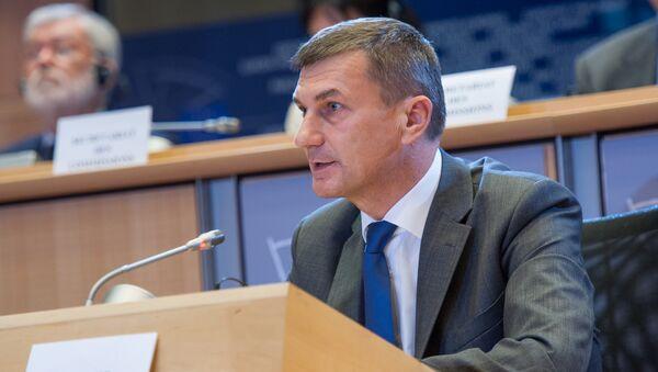 European Commission Vice-President for the Digital Single Market Andrus Ansip - Sputnik International