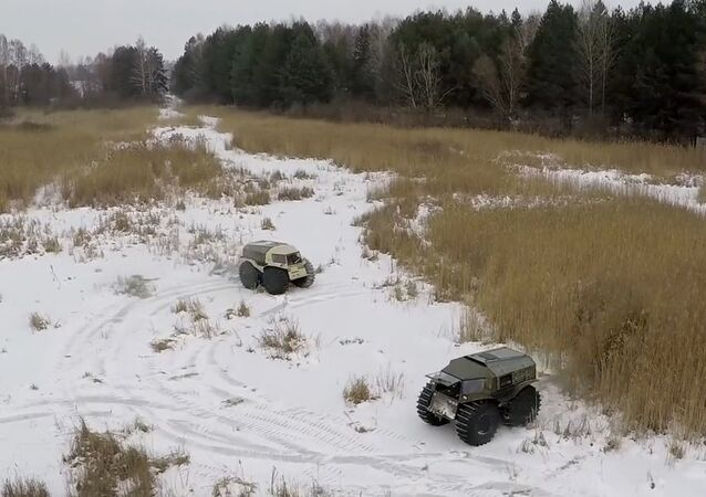 Russian Off-Roader Sherp