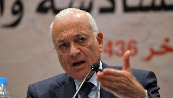 Secretary General of the Arab League Nabil al-Arabi - Sputnik International
