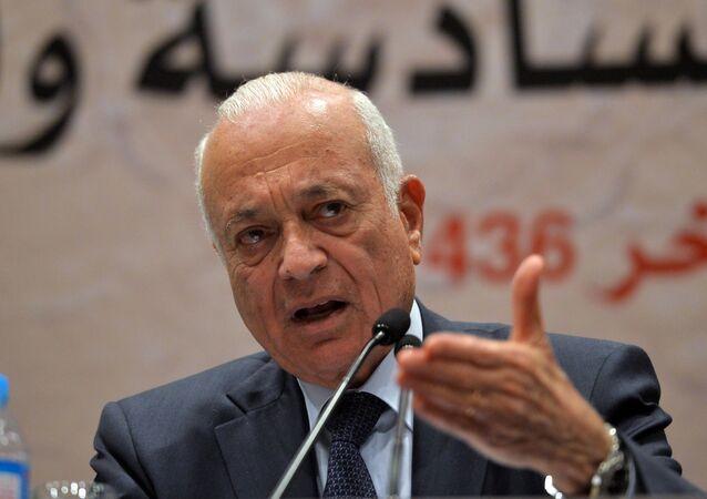 Secretary General of the Arab League Nabil al-Arabi