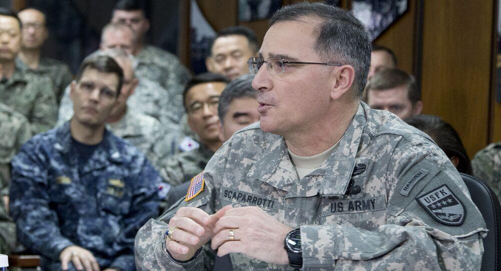 US Army Gen. Curtis Scaparrotti U.S. Army Gen. Curtis Scaparrotti
