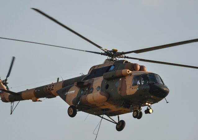 Mi-17B-5 helicopter